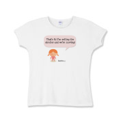 Selling Up Girls Baby Rib T-Shirt