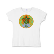 Turtle Hands Girls Baby Rib T-Shirt