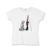 Fallen Soldiers Girls Baby Rib T-Shirt