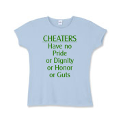 Cheaters Girls Baby Rib T-Shirt