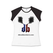 DB Smoking Girls Cap Sleeve T-Shirt