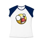 Girls Cap Sleeve T-Shirt