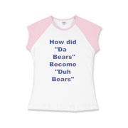 Duh Bears Girls Cap Sleeve T-Shirt