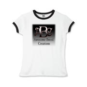 Awesome Breed Creations Girls Ringer T-Shirt