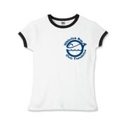 WFB Civic Foundation Girls Ringer T-Shirt