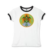 Turtle Hands Girls Ringer T-Shirt