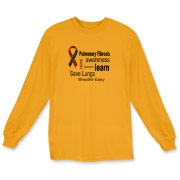 Increase Idiopathic Pulmonary Fibrosis Awareness by wearing this shirt.