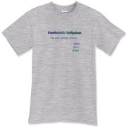 Pantheistic Solipsism Shirts - Cartesian Bear: Witty s-f & tech t ...