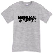 Diabolical Rabbit Graffiti Men's Tee