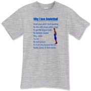 Why I Love Basketball T-Shirt