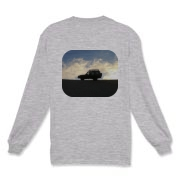 Men's long sleeve Sunset T-shirt Long Sleeve T-Shi