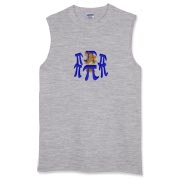 This math Pi sleeveless t-shirt shows six massive stone Pi symbols arranged Stonehenge style. Within the circle of Pi symbols burns a sacrificial fire. Perfect for Pi Day and Pi lovers everywhere.