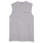 From the RickyBobby line of HFG gear, the classic sleeveless T-shirt ought to fit right in when you decide to catch your catfish barehanded.