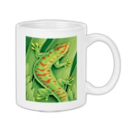 Day Gecko Coffee Mug 11oz
