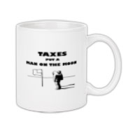 Man on the Moon Coffee Mug 11oz