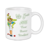 My Zombie Ate Your Accessories Coffee Mug 11oz