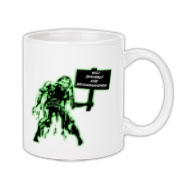 Unemployed Zombie Stuff Coffee Mug 11oz