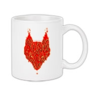 Lavawolf Head Graphic Coffee Mug 11oz