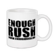 Enough Rush Coffee Mug 11oz