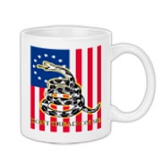 Don't Tread on Me- Revolution (vertical) Coffee Mu