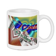 I Love Poker Coffee Mug 11oz