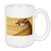 Mountain Lion - Sonora Large Coffee Mug 15oz