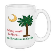 Get your Nothing could be finer... than Christmas in Carolina Palmetto Moon on a t-shirt, other apparel product, mug or one of many other items.