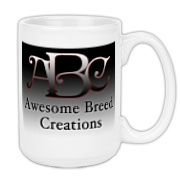 Awesome Breed Creations Large Coffee Mug 15oz