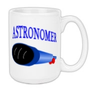 This awesome astronomy large coffee mug design is perfect for the astronomer who prefers to do his stargazing with a refractor. It says: Astronomer, and has a depiction of a refractor telescope.