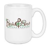 Roots & Sprouts Large Coffee Mug 15oz