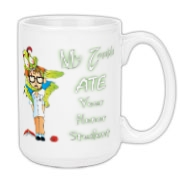 My Zombie Ate Your Accessories Large Coffee Mug 15