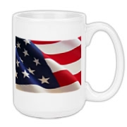 OLD GLORY -  Large Coffee Mug 15oz