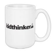 Official kidthinker coffee mug.