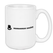 Nonsense Society [light] Large Coffee Mug 15oz