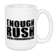 Enough Rush Large Coffee Mug 15oz