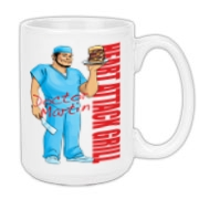 Dr Martin Borbon Large Coffee Mug 15oz