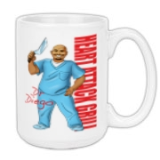 Dr Diego Large Coffee Mug 15oz