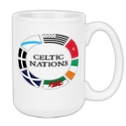 This Celtic Nations coffee mug will let your co-workers that you're a Celt through and through!  It holds coffee too!  Whiskey not included.