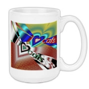 I Love Cats Large Coffee Mug 15oz
