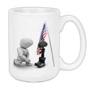 Fallen Soldiers Large Coffee Mug 15oz