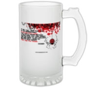 If I Die... Frosted Glass Stein