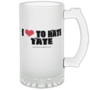 I love to hate Tate on the front, Tate's love letter on the back!