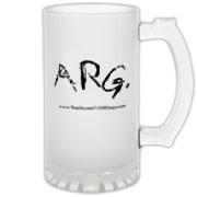 ARG  Frosted Glass Stein