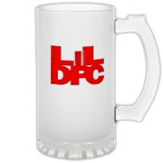 LiL DPC  Frosted Glass Stein