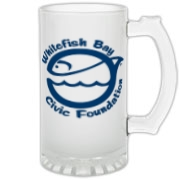 WFB Civic Foundation Frosted Glass Stein