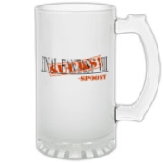 Final Fantasy 8 Sucks Frosted Glass Stein