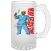 Dr Diego Frosted Glass Stein