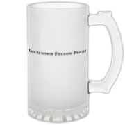 Koch Summer Fellowship Gear Frosted Glass Stein