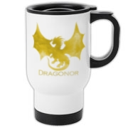 Dragonor Logo on the front; Trefoil Academy emblem on the back.