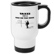 Man on the Moon Travel Mug